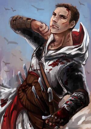 Assassin's Creed - Altair by hatoribaka
