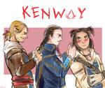 Kenway Family! by hatoribaka