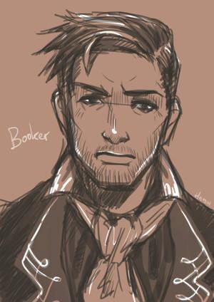 Booker DeWitt by hatoribaka