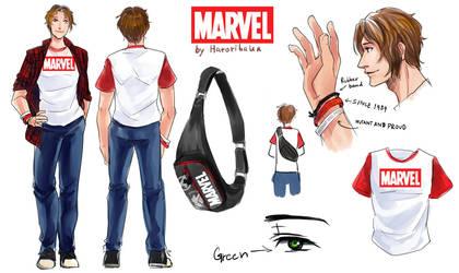 Marvel by hatoribaka