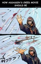 How Assasin's Creed movie should be by hatoribaka