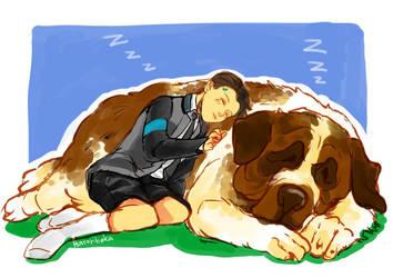 DBH - Sleep Mode by hatoribaka