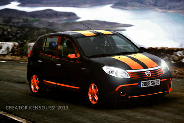 Dacia Sandero 2009 001 by AYAKRAPPER