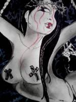 Bed of thorns detail by MissMisfit13