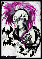 Deathrock Girl by MissMisfit13