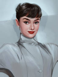 audrey study by damnastic