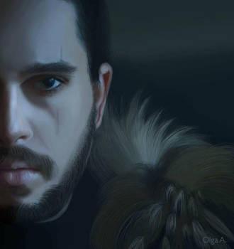 Jon Snow by oantoniadou