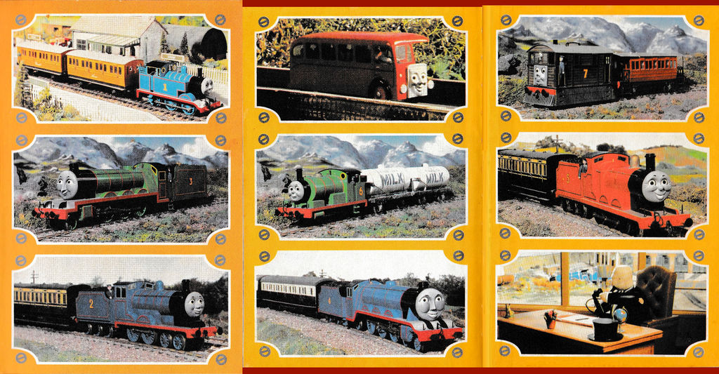 Thomas And Friends Characters Series 1 By Mabmb1987 On Deviantart