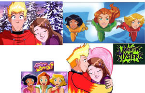 Totally Spies Martin Mystery by Sincity2100