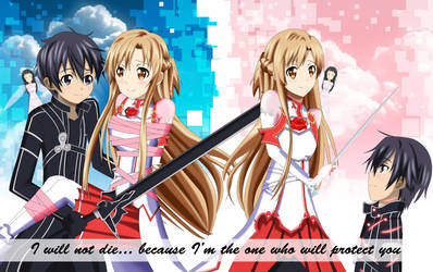 .: SAO : I will protect you :. by Sincity2100