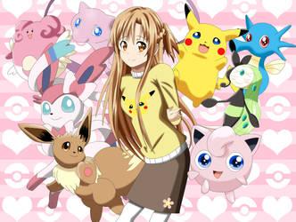 .: Asuna the Pokemon trainer :. by Sincity2100