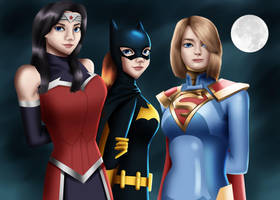 .: DC Ladies :. by Sincity2100
