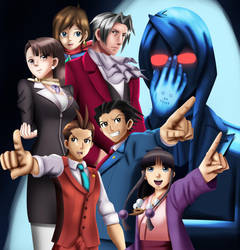 .: Ace Attorney : Defenders of the Law :. by Sincity2100