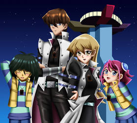 .: YGO Crossover : Cosplayers :. by Sincity2100