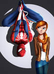 .: Spidey and MJ :. by Sincity2100
