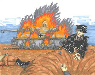 Panzerschlacht (tank battle) by xGeschwatzX