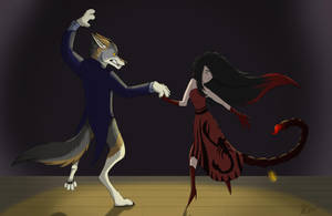 Dancing With A Wolf by BavarianZombieBoy