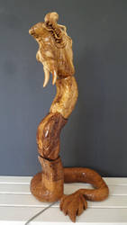 Dragon lamp II by def-j