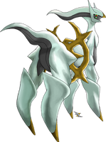 Arceus Normal Type by Xous54