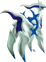 Arceus Water Type by Xous54