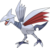 Skarmory: Normal Coloration by Xous54