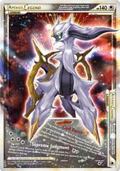 Arceus LEGEND Fake Card by Xous54