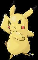 Pikachu by Xous54