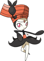 Meloetta Step Forme by Xous54