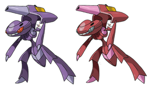 Genesect v.3 by Xous54