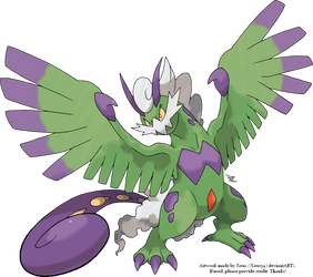 Tornadus Therian Forme by Xous54