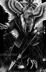 Eagle Tengu by GlassCatfish
