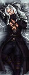 Sephiroth Dakimakura! by GlassCatfish