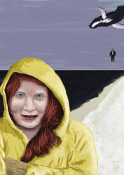 Girl-in-yellow-raincoat by jobwell