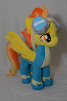 Spitfire Plushie by makeshiftwings30