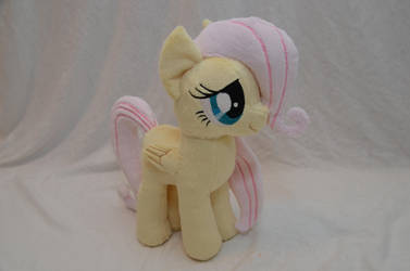 Filly Fluttershy Plush by makeshiftwings30