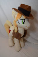 Braeburn Plushie by makeshiftwings30