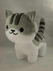 Neko Atsume - Pickles Plush by makeshiftwings30