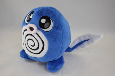 Poliwag Plush by makeshiftwings30