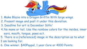 ((CONTEST)) (( EXTENDED, READ COMMENT FEATURED)) by xXRainbowBlazieXx