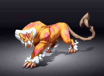 Therian Form Landorus by Namh