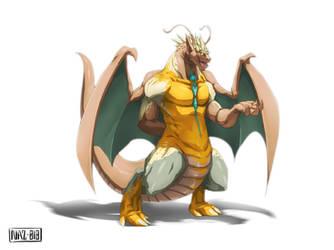 Dragon Adonai (Commission) by Namh