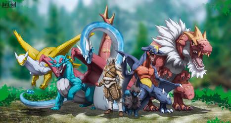 Dragonborn Team by Namh