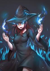 The Dark Mistress, Hazel August Garnier by LordWolx
