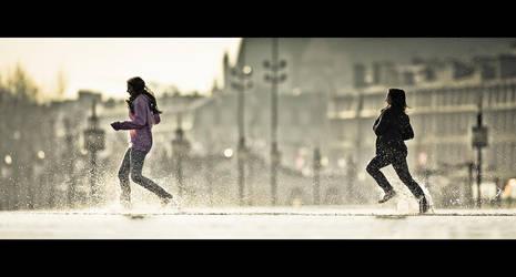 Course poursuite II by Sblourg