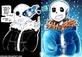 [Undertale] Sans the Skeleton by EdoNyan