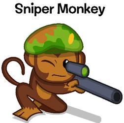 Sniper Monkey by BandiTex