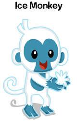 Ice Monkey by BandiTex