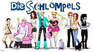 Die Schloempels -Sims3- by ninaneco