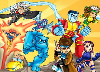 SD X-men 2 by Darda
