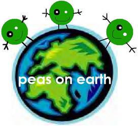 Peas on Earth by dorytheemofish